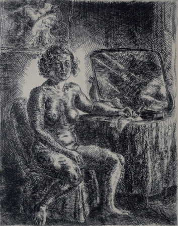 Nude at Dressing Table